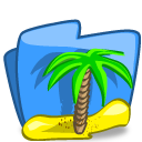 Folder Summer icon