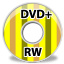 Device DVD plus RW icon