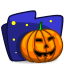 Folder-Halloween icon