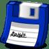 Floppy-blue icon
