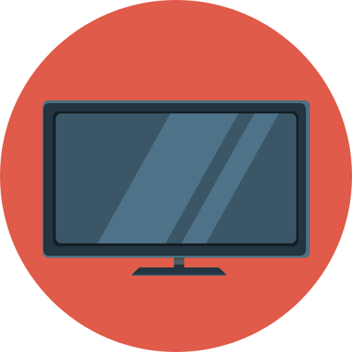 flat tv icon flat iconset flaticonscom