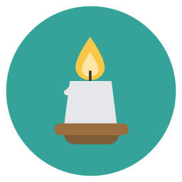 Candle Icon | Flat Christmas Circle Iconset | fps: www.iconarchive.com/show/free-christmas-flat-circle-icons-by-fps.hu...