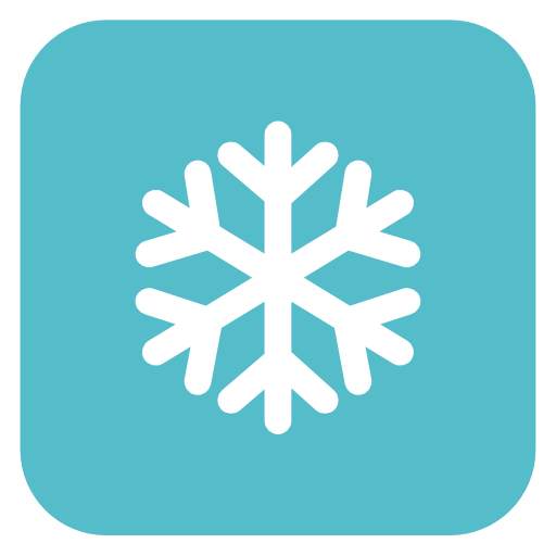 Snow flake Icon | Flat Christmas Iconset | fps