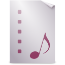 Mimetypes playlist icon