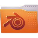 Places folder blender icon