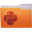 Places folder python icon