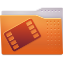 Places folder video icon
