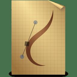Mimetypes ai icon