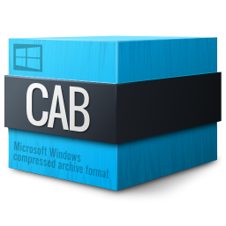 Mimetypes application vnd.ms cab compressed icon