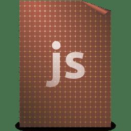 Mimetypes javascript icon