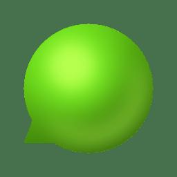 Status tray online icon