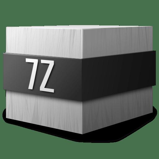 Mimetypes application 7zip icon