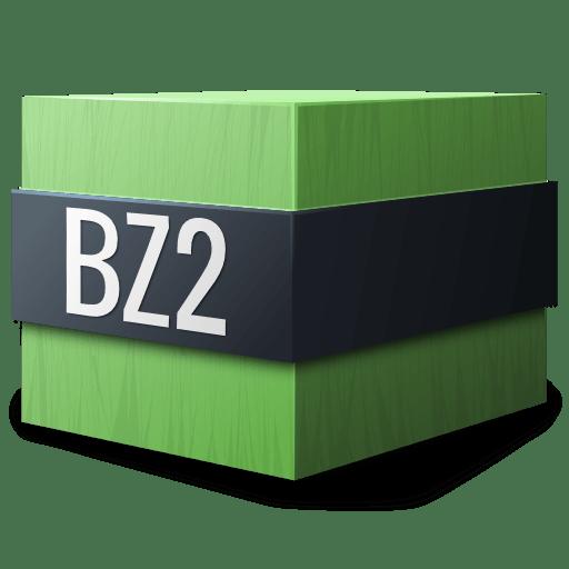 Mimetypes-application-x-bzip icon