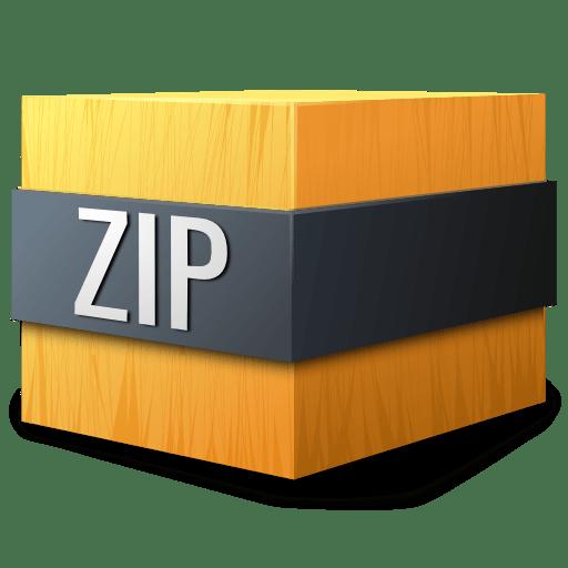 Mimetypes zip icon
