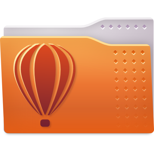 Places folder coreldraw icon