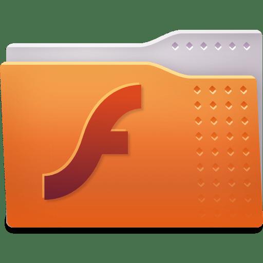 Places folder flash icon