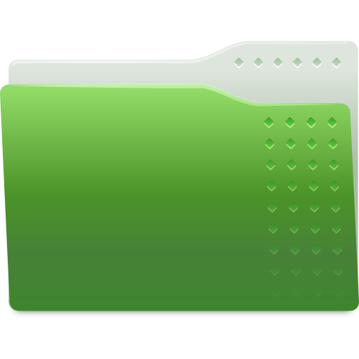 Places-folder-green icon
