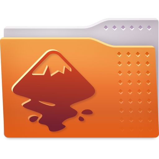Places folder inkscape icon