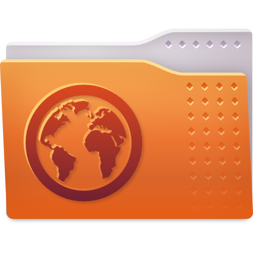 Places folder web icon