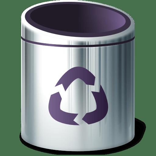 Places-trash-empty icon