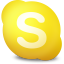 Actions skype contact away icon