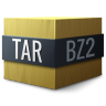 Mimetypes-application-x-bzip-compressed-tar icon