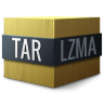 Mimetypes-application-x-lzma-compressed-tar icon