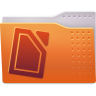 Places-folder-txt icon