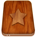 Favourites hard drive icon