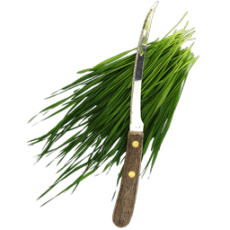 fresh cut wheatgrass icon