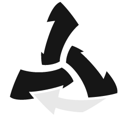 Trash Arrows Empty icon