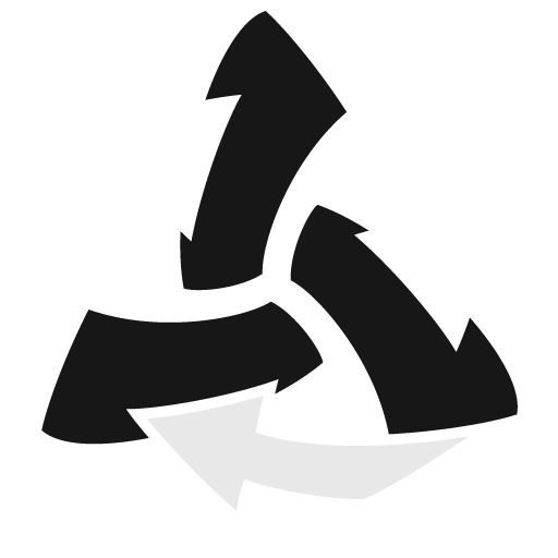 Trash-Arrows-Empty icon