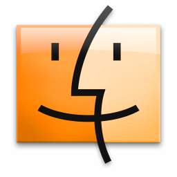 Orange Finder icon