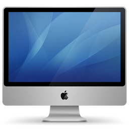 imac aluminum icon
