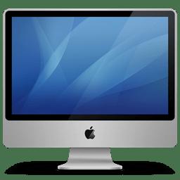 Imac aluminum icon