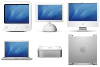Historic Mac Icons