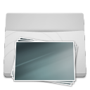 White-Folder-Pictures icon