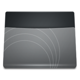 Black Folder icon