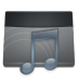 Black-Folder-Music icon
