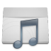 White-Folder-Music icon