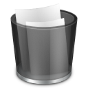 Start Menu Recycle Bin Full icon