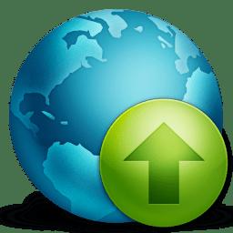 Network Upload icon