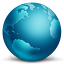 Network Globe Connected icon