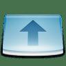 Folders-Uploads-Folder icon