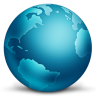 Network-Globe-Connected icon