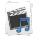 Movie Music File icon