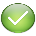 Tick icon