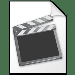 Movie file icon