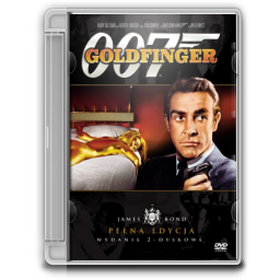 1964 James Bond Goldfinger icon