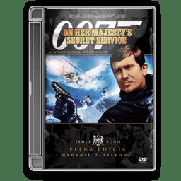 1969 James Bond On Majestys Secret Service icon